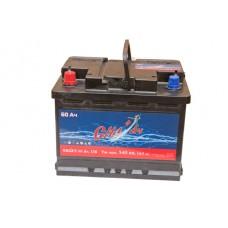 Автомобильный аккумулятор СИЛ°Ач 60Ач 540 A прямая пол.