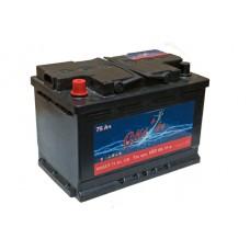 Автомобильный аккумулятор СИЛ°Ач 75 Ач 680 A пр. пол.