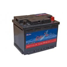 Автомобильный аккумулятор СИЛАЧ 55Ач 480 A прямая пол