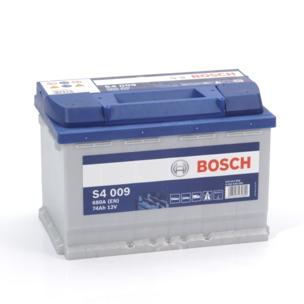 Автомобильный аккумулятор Bosch S4 Silver 74 Ач 680 А прямая пол. 574013