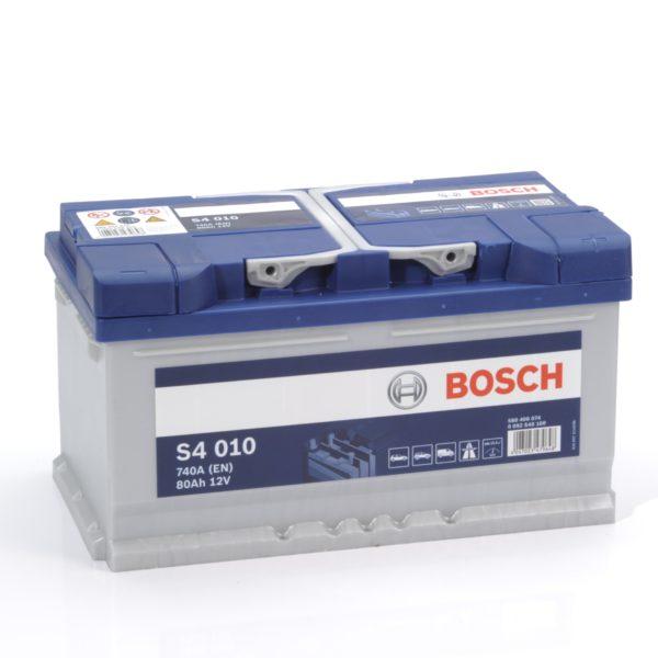 Автомобильный аккумулятор Bosch S4 Silver 80 Ач 740 А обратная пол. S40100 580406