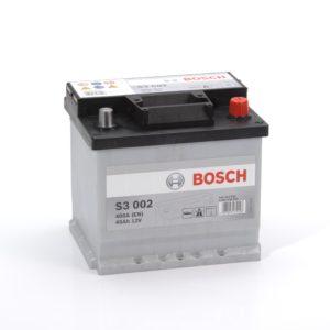 Автомобильный аккумулятор BOSСH S3 Silver 45 Ач 400 A обратная пол. S30020 545412