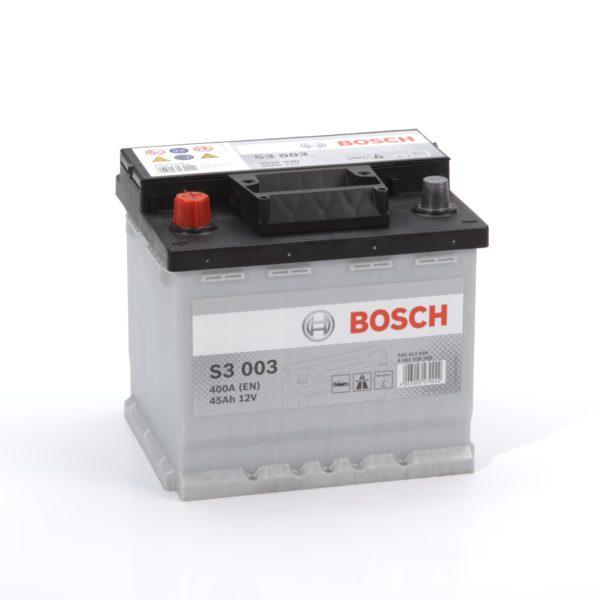 Автомобильный аккумулятор BOSСH S3 Silver 45 Ач 400 A прямая пол. S30030 545413