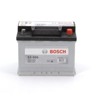 Авто аккумулятор BOSСH S3 56 Ач 480 А обратная пол. S3005 556400