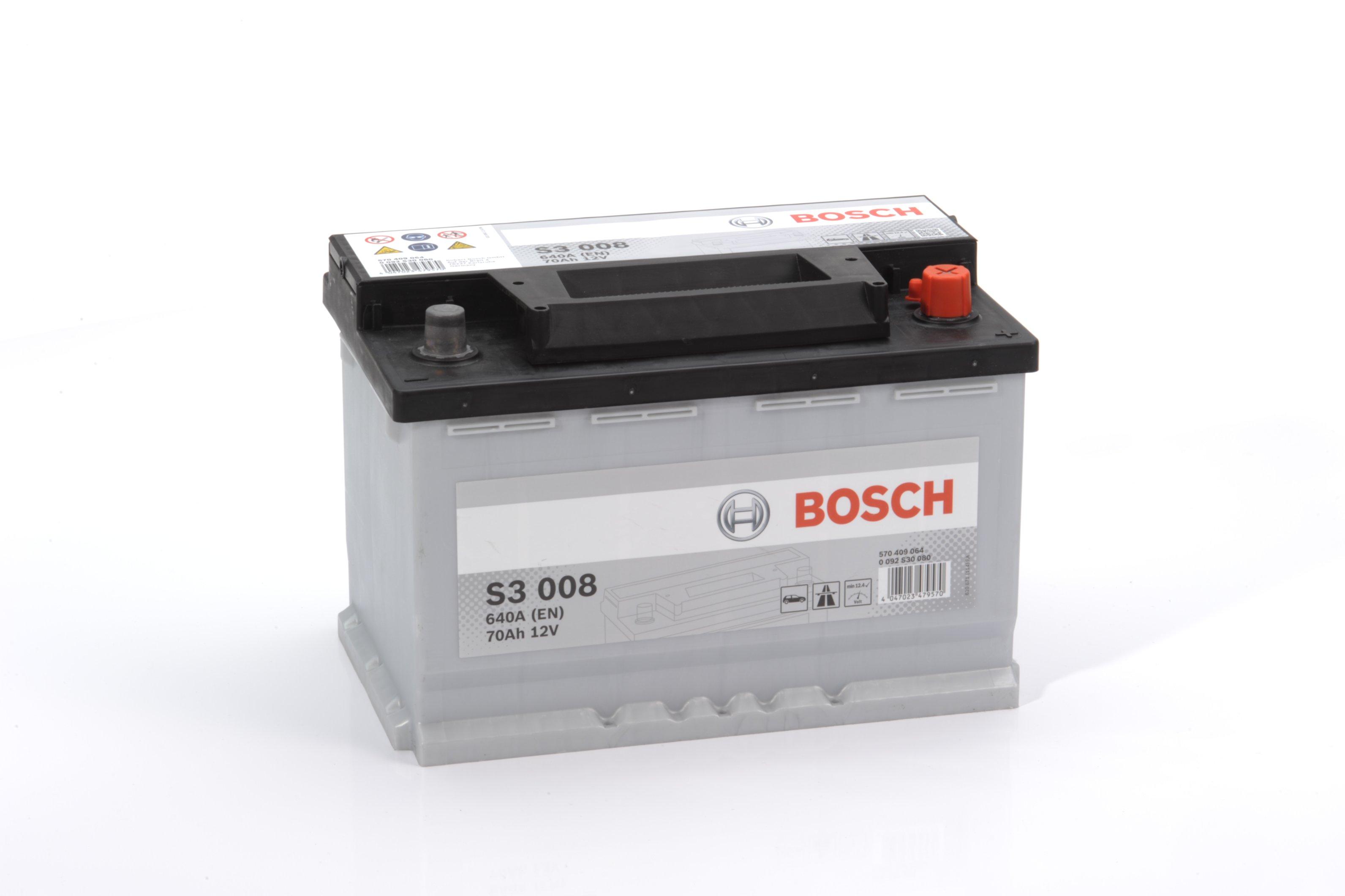 Авто аккумулятор BOSСH S3 70 Ач 640 А обратная пол. 570409