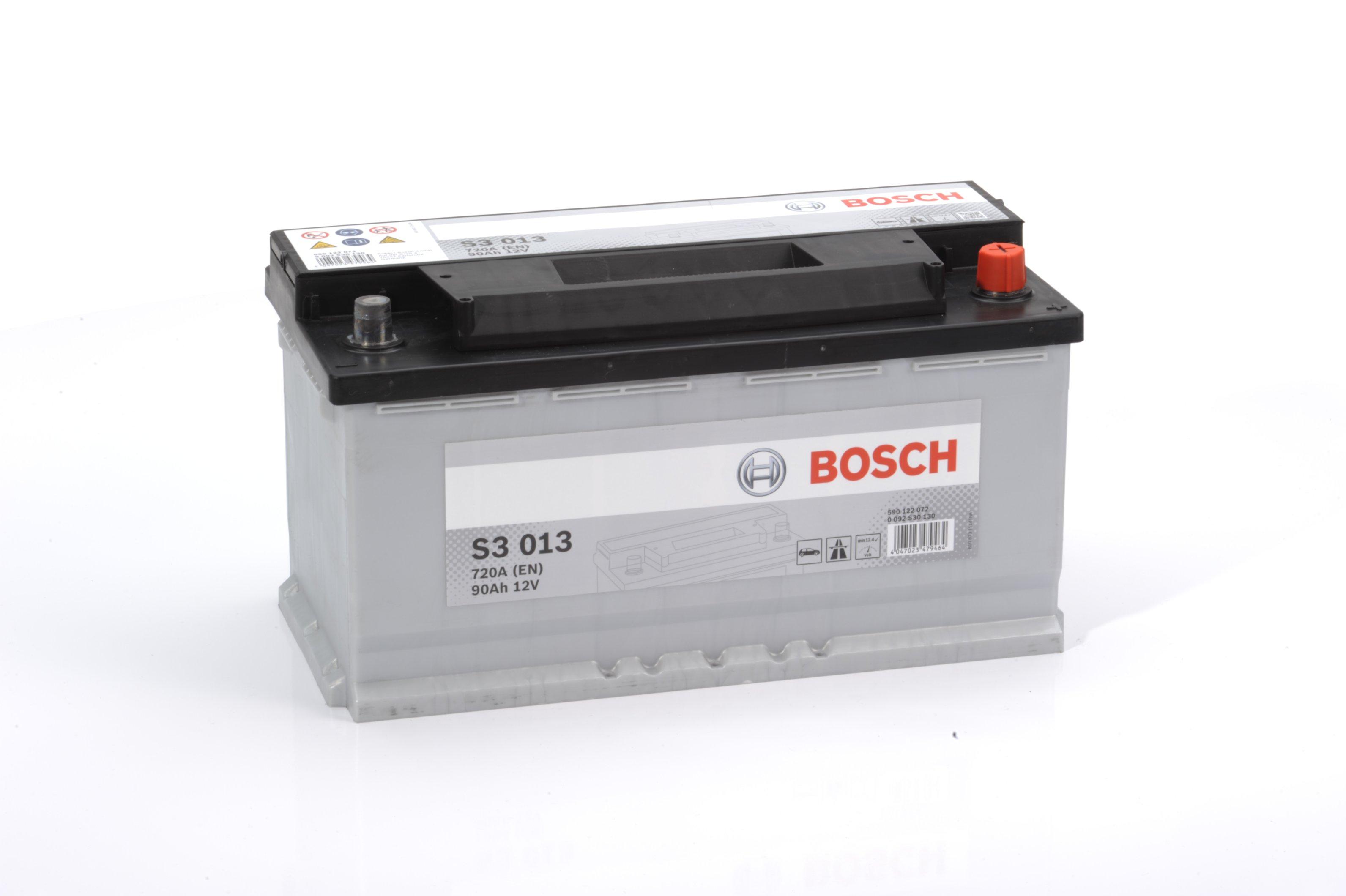 Авто аккумулятор BOSСH S3 90 Ач 720 А обратная пол. F6 590122
