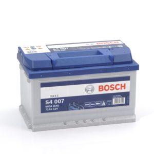 Автомобильный аккумулятор Bosch S4 Silver 72 Ач 680 А обратная пол. 572409