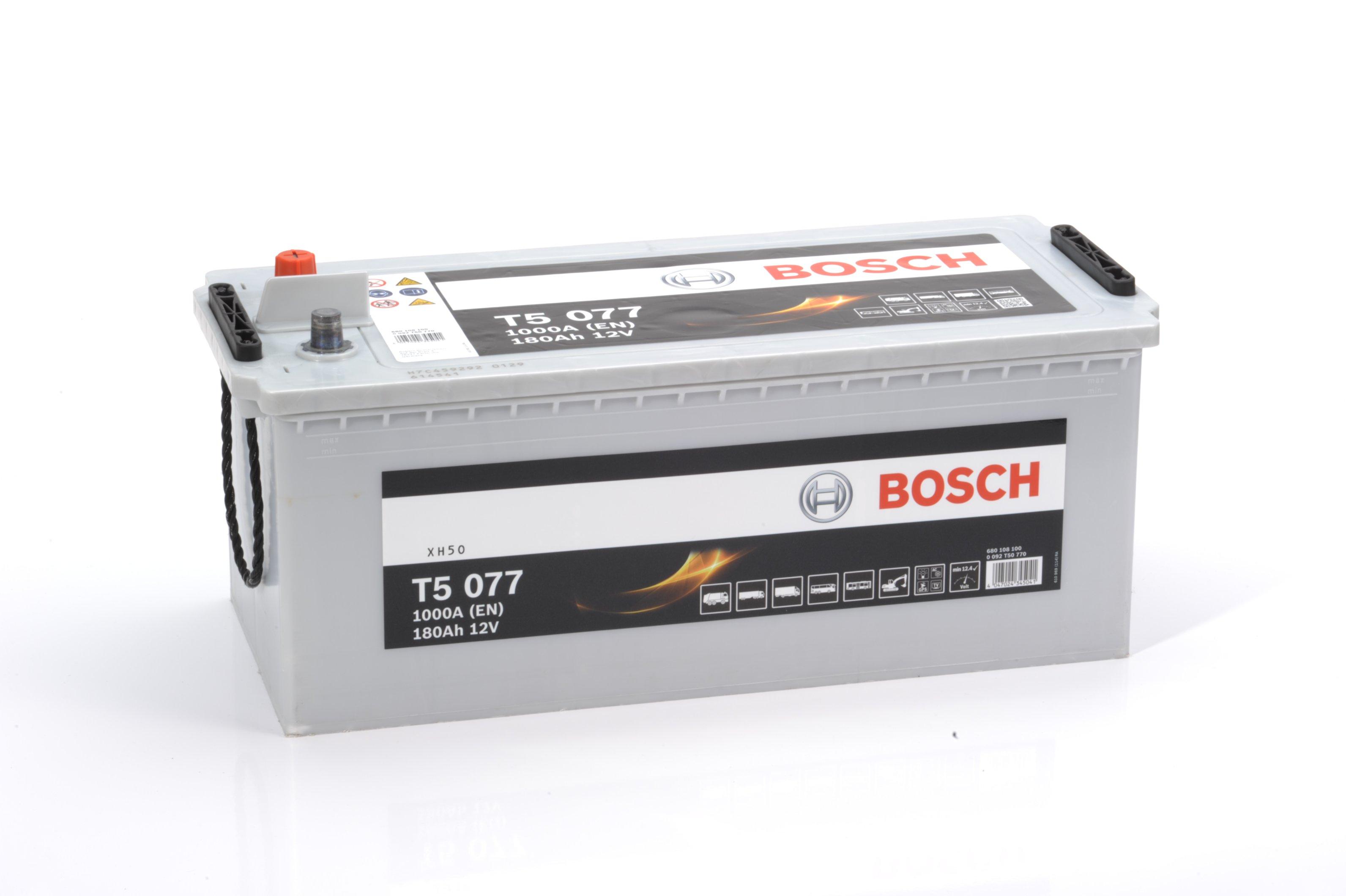 Грузовой аккумулятор Bosch T5 HDE 180Ач, 680 108