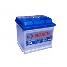 АКБ Bosch S4 Silver 52 Ач 470 А обратная пол