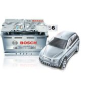 АКБ Bosch S6 AGM HighTec 105 Ач 950 А