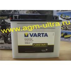 Мото аккумулятор Varta 12V 518 015 018-18Ач