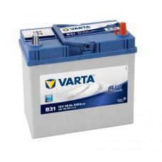 Автомобильный аккумулятор Varta Blue Dynamic 45 Ач 330 A обр. пол тонкие клеммы B31
