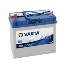 Автомобильный аккумулятор Varta Blue Dynamic 45 Ач 330 A прямая пол B34