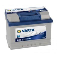 Автомобильный аккумулятор Varta Blue Dynamic 60 Ач 540 A обратная пол D59
