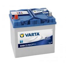 Автомобильный аккумулятор Varta Blue Dynamic 60 Ач 540 A прямая пол D48