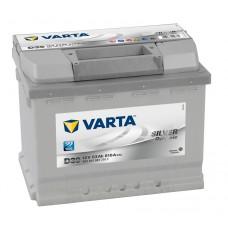 Автомобильный аккумулятор Varta Silver Dynamic 63 Ач 610 A прямая пол D39